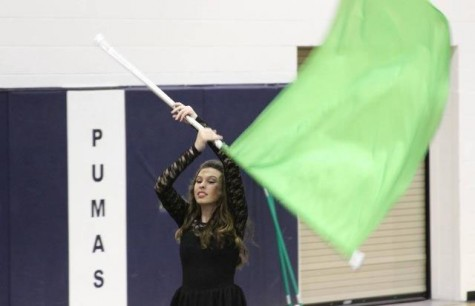 Winter guard proves to be an asset to Perry athletics and art