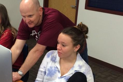 Bernier applies life experiences to classroom setting