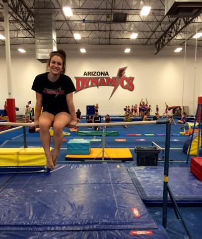 Gymnast receives full-ride scholarship to OSU