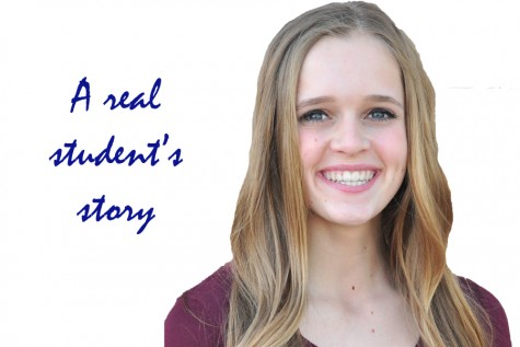 A student's battle with herself: