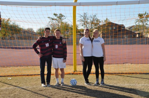 Family ties in both soccer programs strengthens chemistry