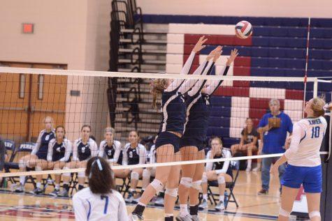 Varsity volleyball vs. Xavier