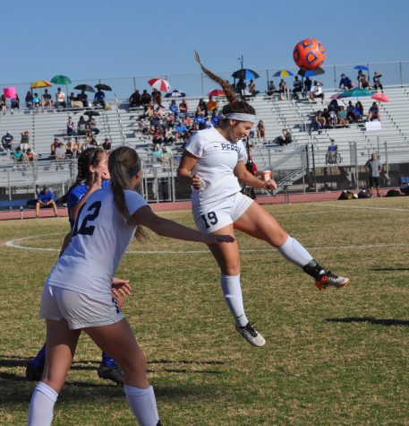 Girls Soccer on to semis after late winner