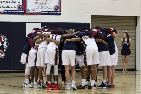 Basketball heads into playoffs united