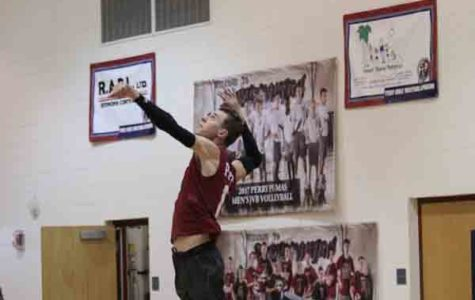 Men's volleyball flies to the top of the rankings