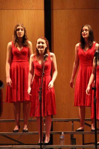 Seniors in choir sing their last note of the season