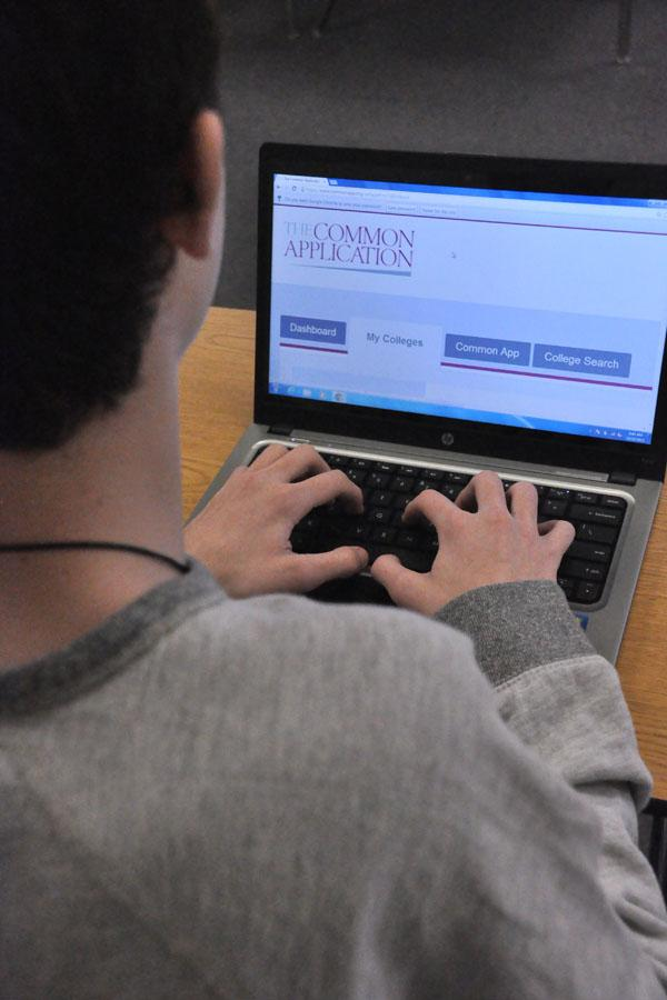 Students' stress levels are already high with the pressure of college application due dates so close. The added stress of self-help websites are not helping relieve the stress.