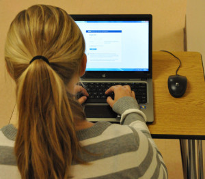As students opt out of taking the semester long, in school health class, they turn to a fast easier way- the internet. More and more students are looking for a quick and easy way out of health, but still have it count for their overall credits.
