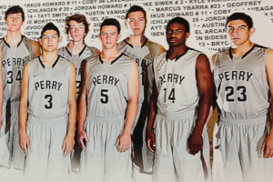 According to the AIA, the boy's grey basketball uniforms violate the high school color requirements. The rule mandates that home jerseys should be white while away jerseys can be a contrasting dark color.