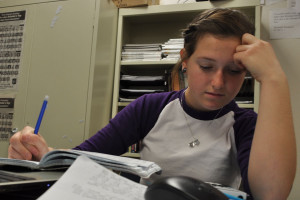 Excess homework controlling students' lives