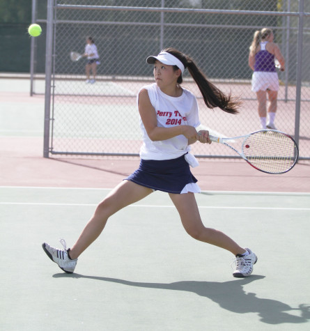 Girl's Tennis Crushes Competition