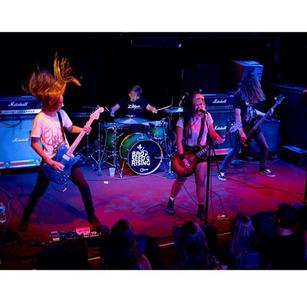 Bad Seed Rising is a rock band consisting of 12-to-16 year-olds from Baltimore, Maryland.