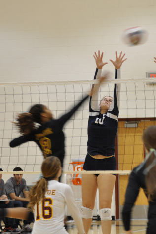 Freshman has huge impact on varsity girls v-ball