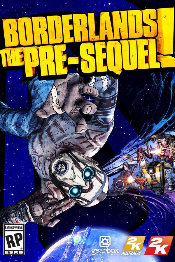Borderlands: The Pre-Sequel box cover art