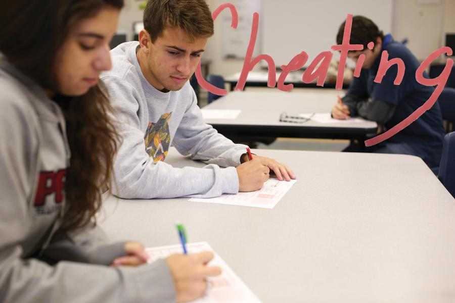 A recent poll shows that the overwhelming majority of PHS students have cheated in school since their freshmen year.