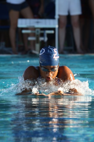 Swimmer Richardson places second in state