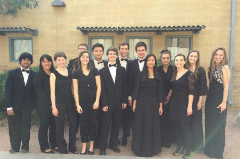 Band, choir, and orchestra students participate in Southwest Regionals