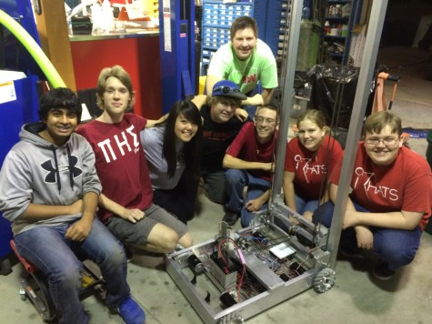 Robotics team prepares for March competition