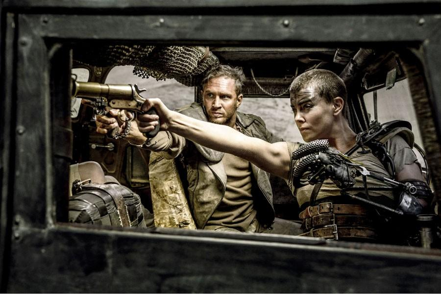 Tom Hardy and Charlize Theron star in the film Mad Max: Fury Road (Warner Bros. Pictures)
