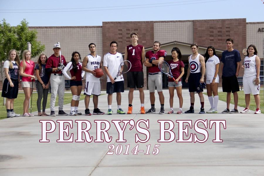 The 2014-15 Perry's Best student athletes.