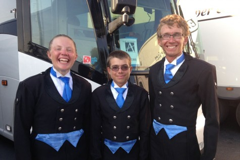 Stepping in time: Perry students spend summer traveling the country with prestigious drum corps