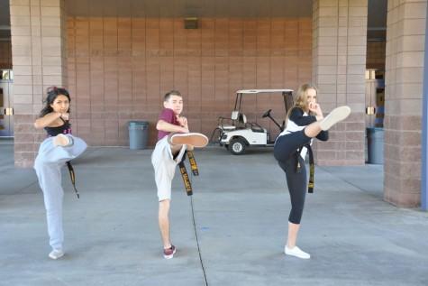 The karate kids