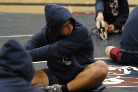 Wrestling hopes to make impact with hard work and determination