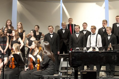 Choir concert spreads holiday cheer