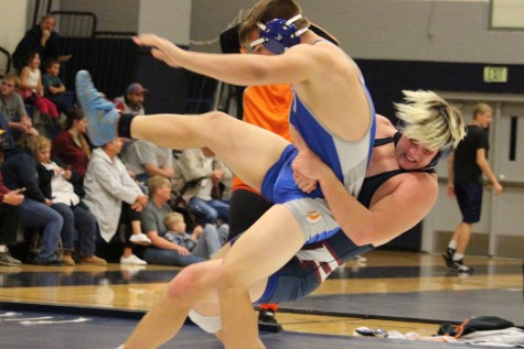 Colton Evertsen uses talent and determination to dominate during wrestling