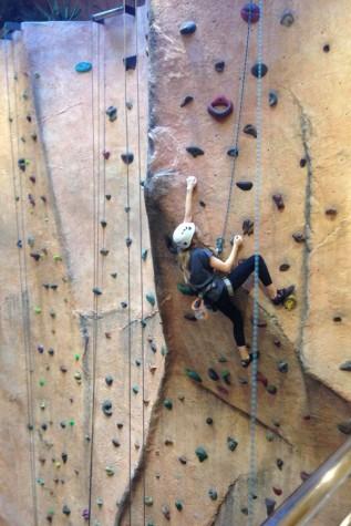 Rock climbing twins bond over unique sport