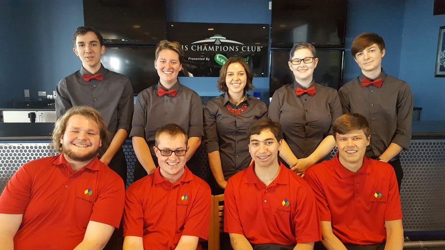 Robotics team travels to Michigan; places top-20 in national competition