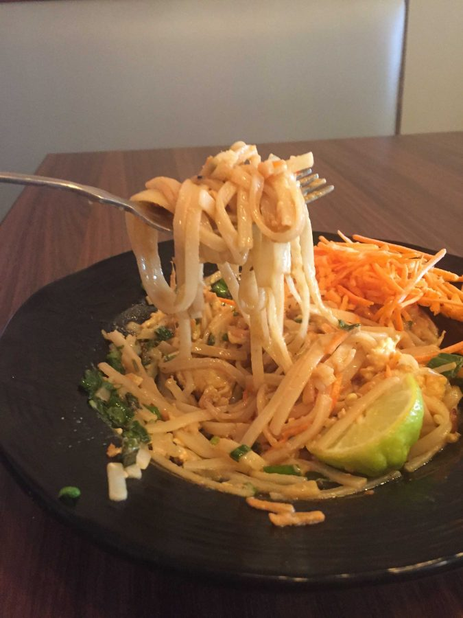 Pad Thai from Sobas Restaurant