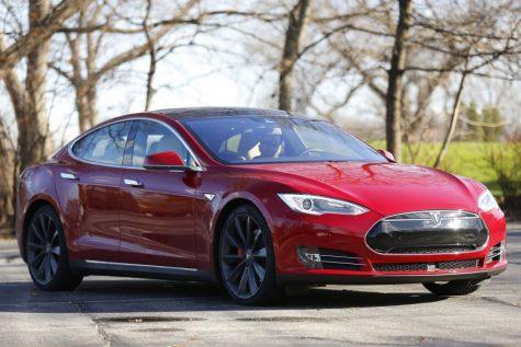 The Tesla Model S P90D. (Chris Walker/Chicago Tribune/TNS)