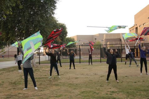 Winter guard attracts new members for 2016-2017