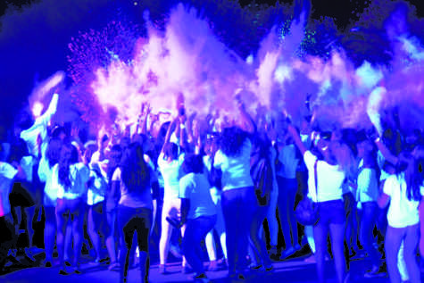 MORP becomes hit amongst students with its Color Craze theme and powdered color packets in parking lot