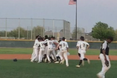 Softball beats Hamilton in walk-off home run; JV/FROSH baseball also walk-off wins