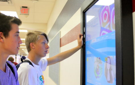 SkoolLive boards implemented on campus