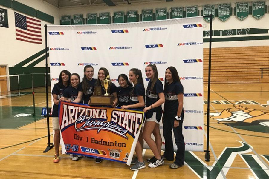 Badminton wins State Championship