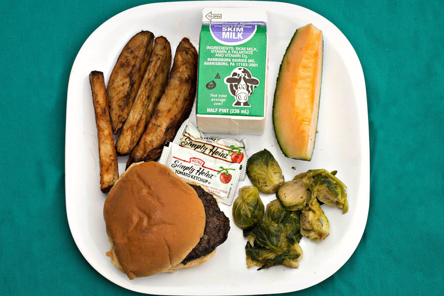 Lunch+at+DC+Public+Schools+on+10%2F9%2F12%3A+Local+Beef+Burger+on+a+Whole+Wheat+Bun%2C+Roasted+Brussel+Sprouts%2C+Baked+Potato+Fries%2C+Cantaloupe+Wedge+%26+Milk.