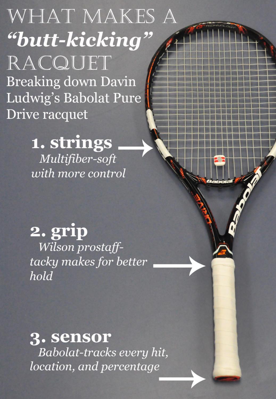 """""""I got a new racket...still gonna beat everyone's butt,"""