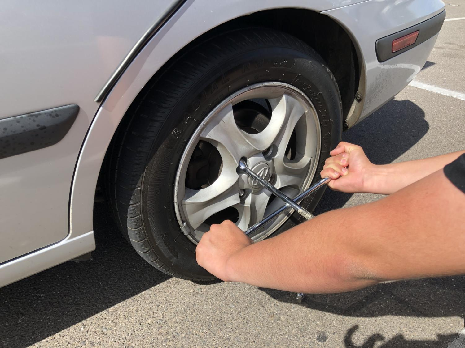 Learn how to change your tires; it only takes a few minutes!