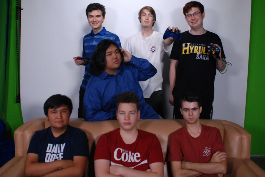 (Top Left) Kevin Goldsmith, Connor Hadden, Jack Felix (Middle) Derek Ho (Bottom Left) Travis Begoody, Scotty Fleming, Ryan Wagner