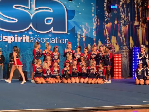 Cheer wins State and claims 4th at Nationals