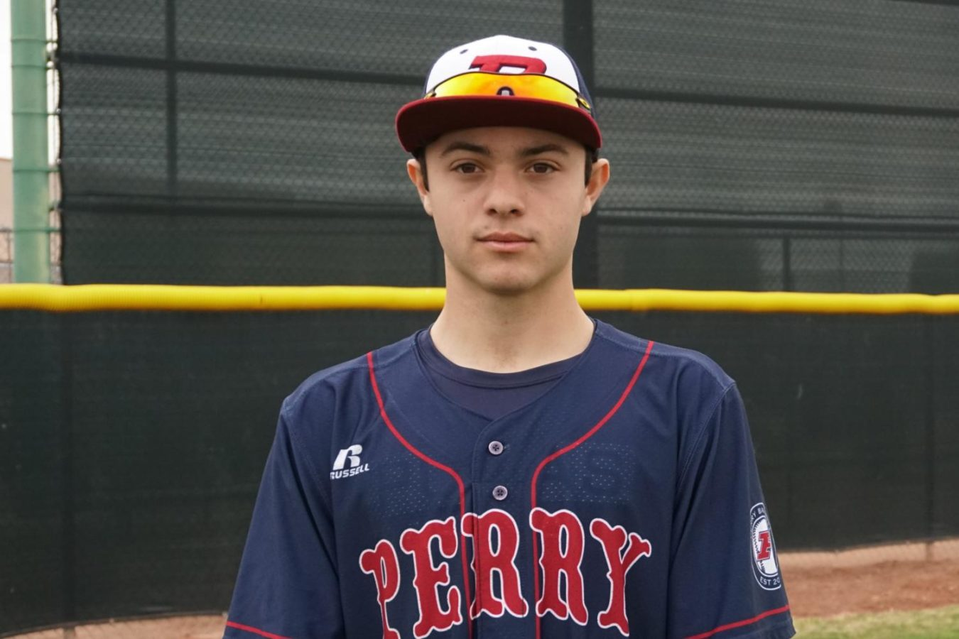 Michael Camarra mug shot for Perry baseball