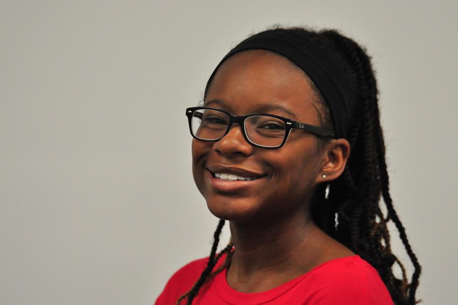 Senior Amira Johnson