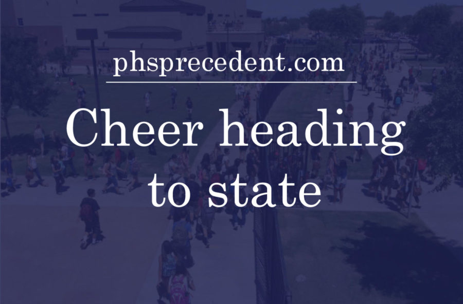Cheer going to state, let's take home the win!