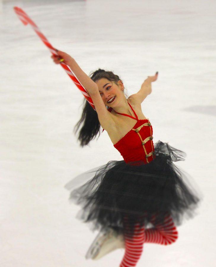 Jaidyn DeStefano Alai is an ice skater in the desert