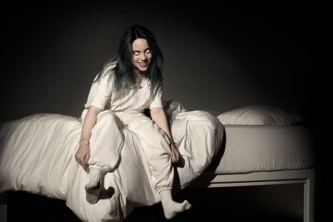 Album cover for new Billie Eilish album