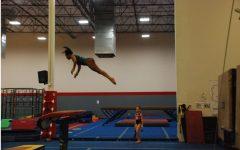 Joi Morrison: a powerful gymnast with powerful faith