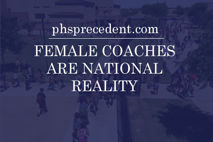 Female coaches are national reality